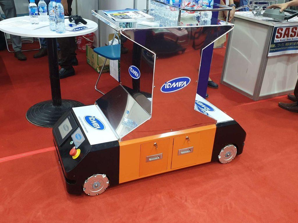 Robot AGV tại triển lãm EXxpo 2020